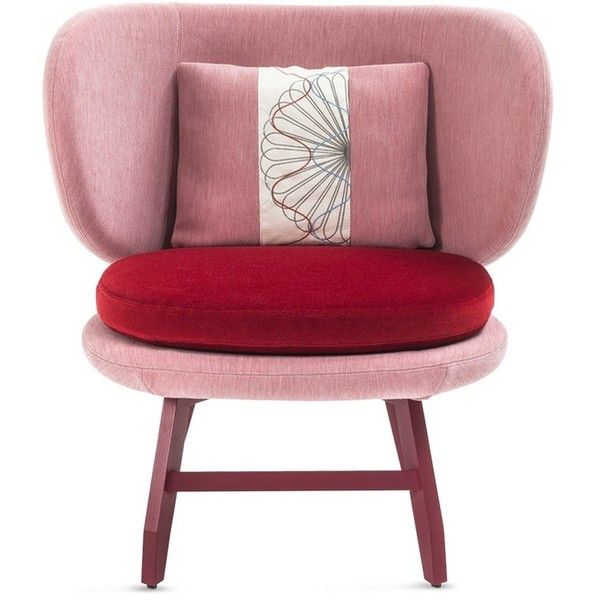 Moroso Ariel Small Armchair Red 3 870 Liked On Polyvore Featuring Home Furniture Chairs Red Chair Moroso Moroso Furniture Small Armchair Furniture