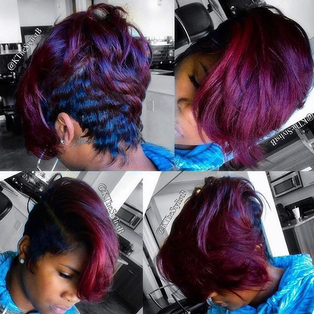 398 Best Images About Black Women Hairstyles On Pinterest