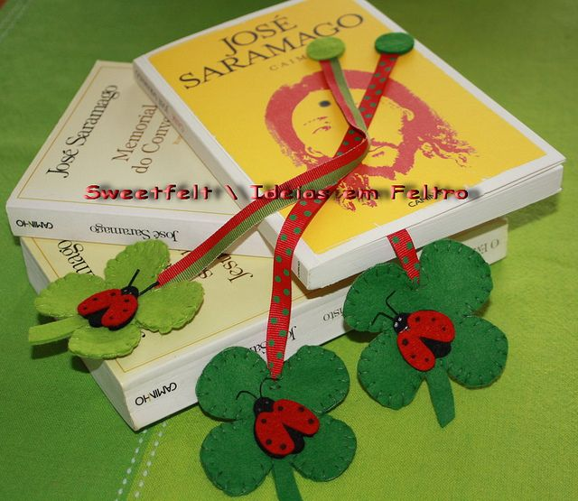 shamrock bookmarker