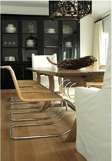 Briggs Edward Solomon I M Always Attracted To A Style Call Simple Elegance Transitional Dining RoomsBlack CabinetBlack