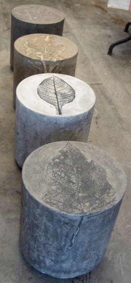 Concrete Leaf Print | Flickr - Photo Sharing!