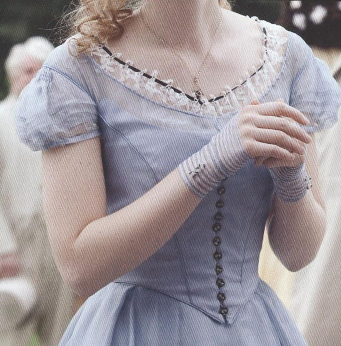 Alice's blue dress picture