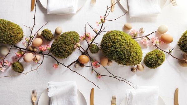 idée de centre de table pour Pâques