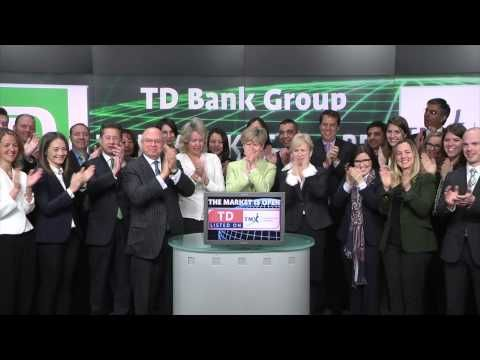 TD Bank Group (TSX:TD) opens Toronto Stock Exchange, March 20, 2015