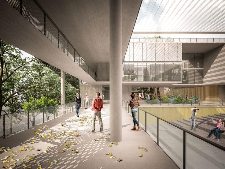 PLAN Arquitectos gana concurso de ideas de la Universidad Austral de Chile en Valdivia,Cortesía de PLAN Arquitectos