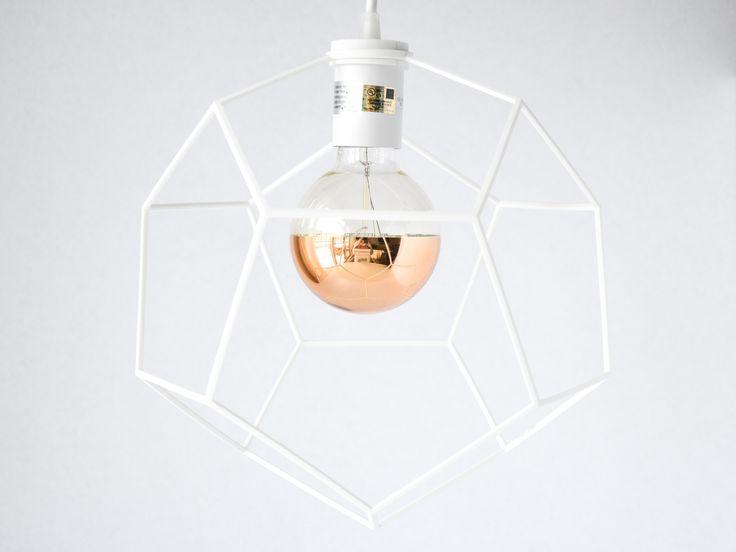 Dodeca Pendant Light designed by modern lighting studio DeVignCo.