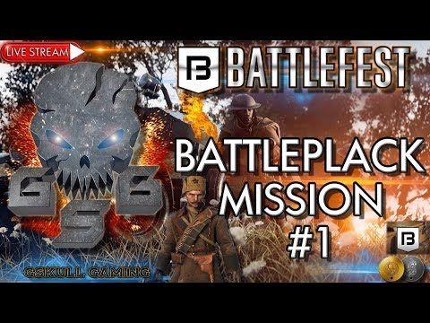 BATTLEFEST BATTLEPACK MISSION #1  | BATTLEFIELD 1| ROAD TO 1K SUBS | LIV...