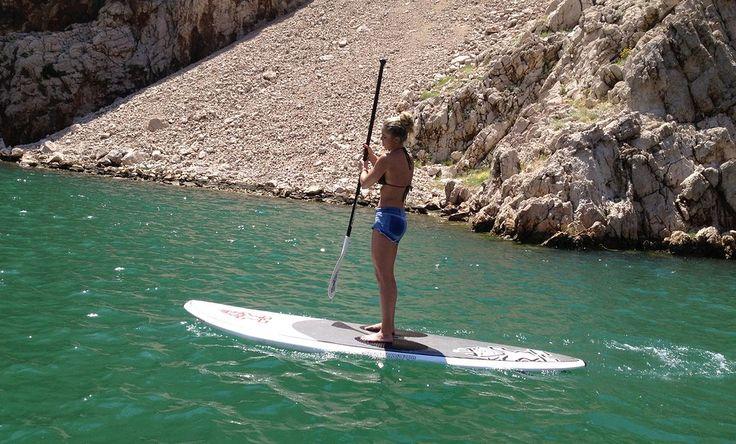 Avontuurlijke sporten op Brac, extreme sporten in Kroatie