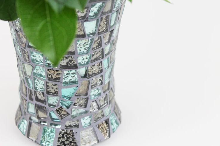 "Mosaik-Vase ""Enzo"" von Mandury auf DaWanda.com"