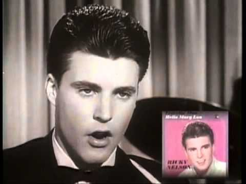 Ricky Nelson - Greatest Hits - YouTube   This is a whole album of his best!  We hit the treasure trove!