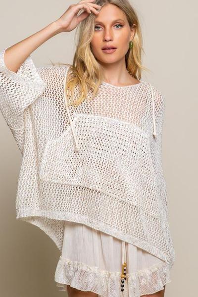 Coastal Milkshake Hoodie – Mickey's Girl   Sueter tejido para mujer, Ropa crochet, Confección de ropa