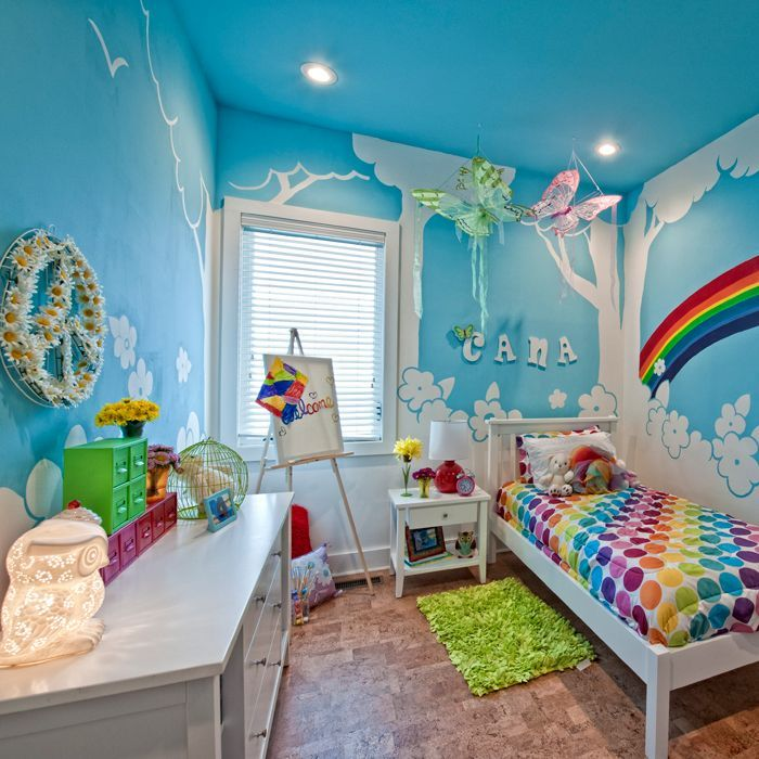 Rainbow Themed Room: 29 Best Images About Quartos De Meninos On Pinterest