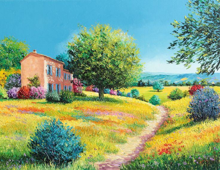 """Summer house"" 50x65 cm"