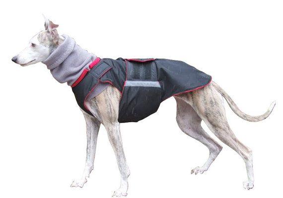 Dog Raincoat  Dog Jacket Custom Dog Coat by PepperPetWear on Etsy