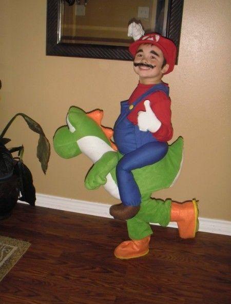 Super Mario Yoshi Halloweenis Pinterest Halloween Costumes