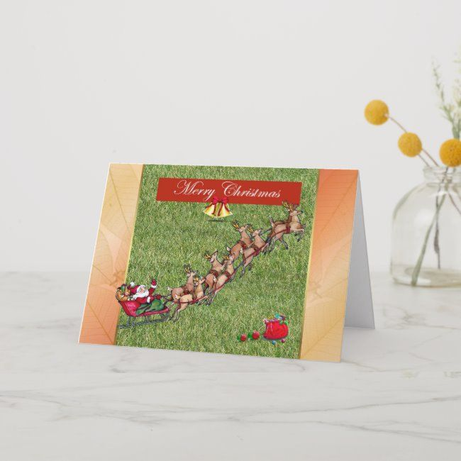 Cares Christmas Cards 2020 Merry Christmas gardener lawn care landscape Holiday Card | Zazzle