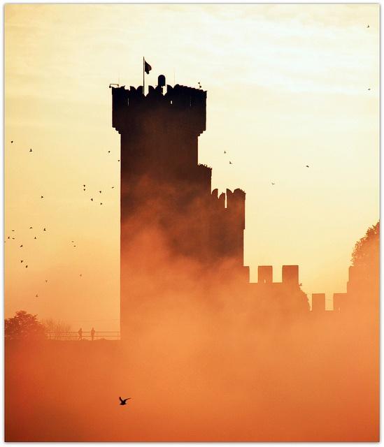 Castello di Valeggio sul Mincio by moro1954, via Flickr