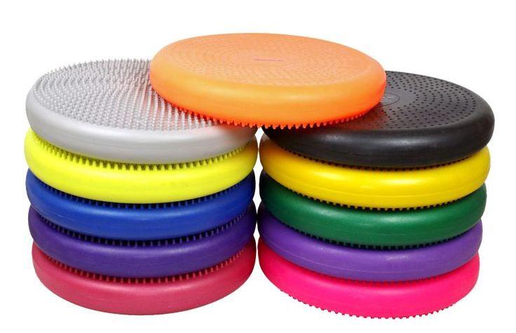 """Isokinetics Inc.™ Exercise Disc/Balance Cushion - 14"""" Diameter - Many Colors"""