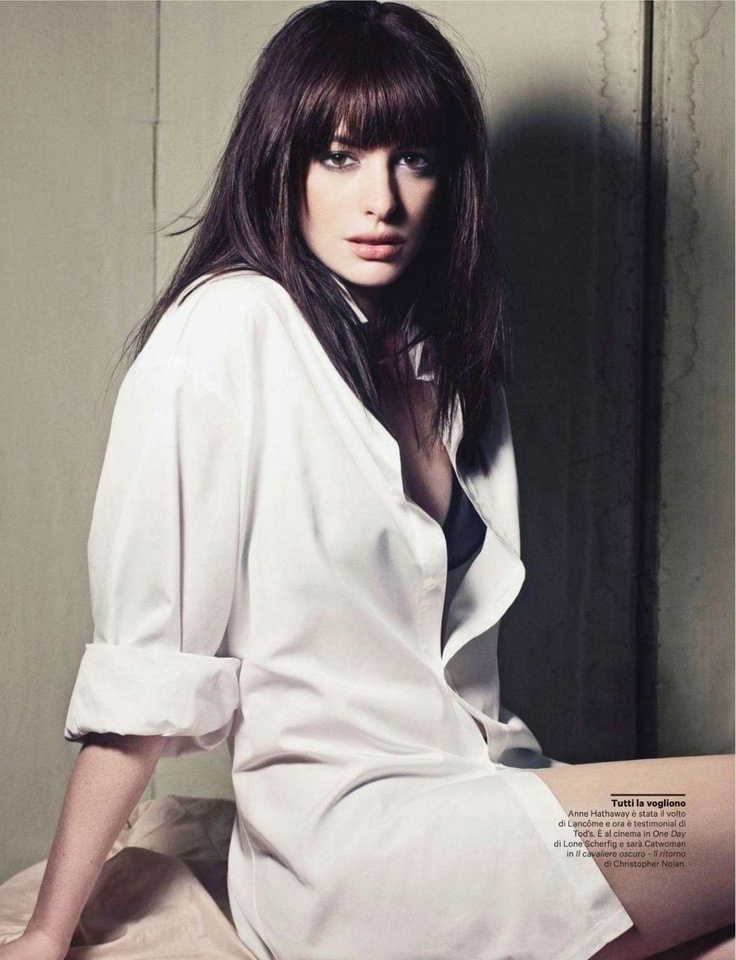 Smartologie: Anne Hathaway for 'Amica' Magazine Italy, November 2011
