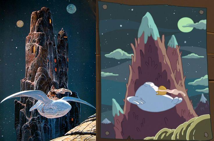 Arzach, Moebius Adventure Time s6 e33, Brandom Graham