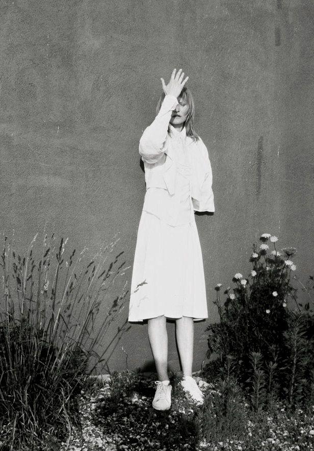 moldavia:  Kirsten Owen in Purple Fashion #18F/W 2012 by Mark Borthwick