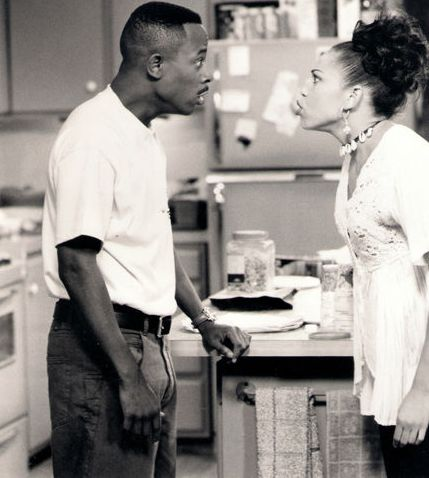 Martin and Gina! Argue like them but than later on we can't help but to laugh at each other.