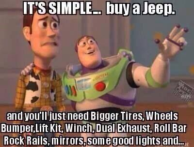 ce1fa28783be62c803d9b344f53ee408 simple lifestyle 143 best beep beep i'm a jeep images on pinterest jeep life,Pink Jeep Beers Cheap Meme