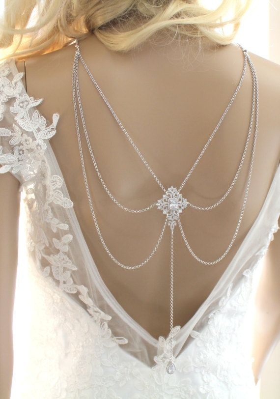 Hey, I found this really awesome Etsy listing at https://www.etsy.com/listing/514558093/bridal-backdrop-necklace-statement