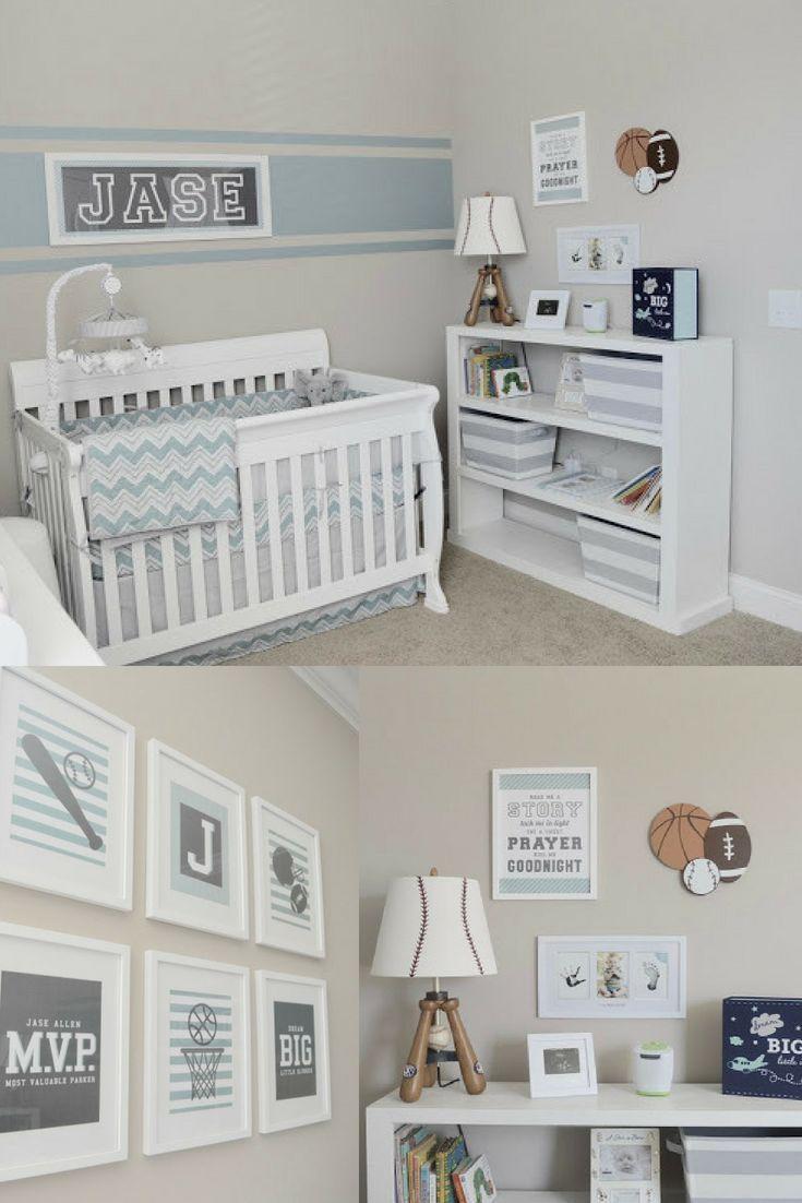 Jase S Nursery Reveal Aiden Tucker Baby Boy