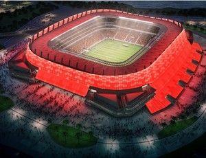 Fachada Arena Pernambuco (Foto: Divulgação/Odebrecht Infraestrutura)