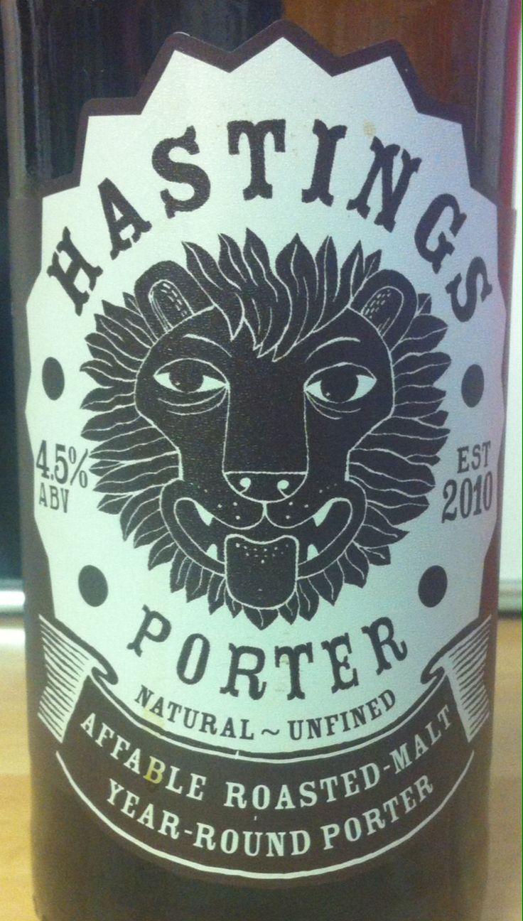 Hastings Porter ABV 4.5%. St Leonards, East Sussex. 8/10.