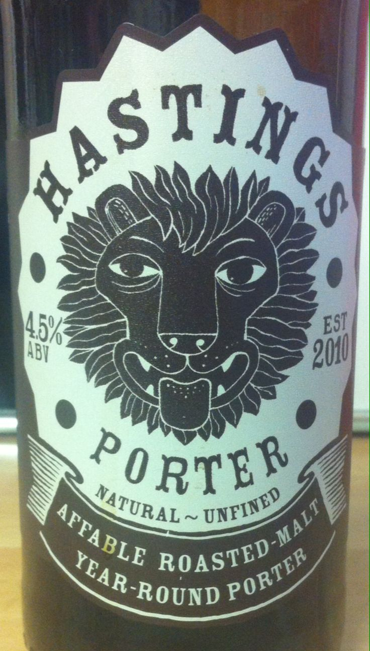 Hastings Porter ABV 4.5%. St Leonards, East Sussex. 8/10.