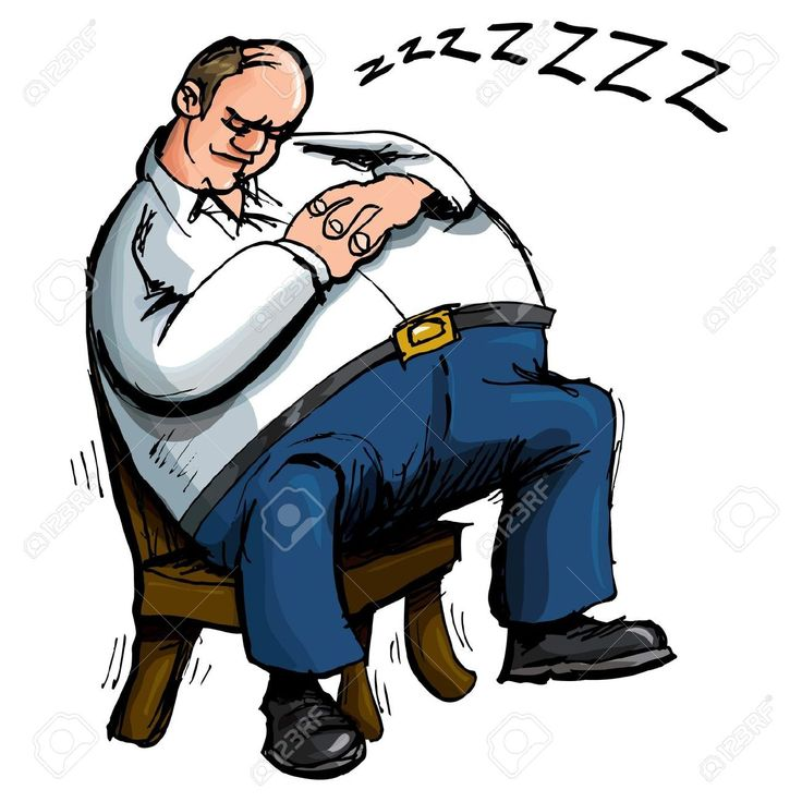 9438230-Cartoon-of-overweight-man-sleeping-in-a-chair-Isolated-on-white-Stock-Vector.jpg (1300×1300)
