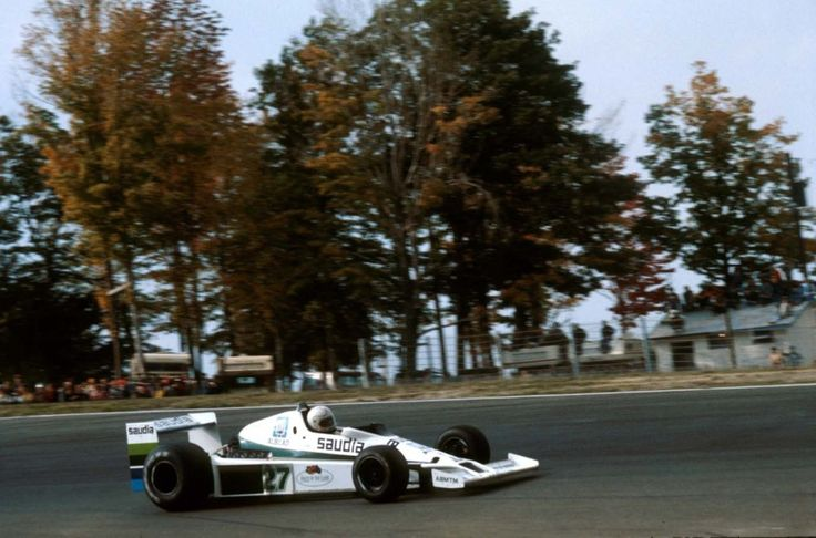 Williams FW06 Ford Cosworth DFV V8 Alan Jones e o Williams FW06 no Grande Prêmio dos Estados Unidos (Leste) de 1978 (Foto LAT fornecida por Williams F1, Watkins Glen, USA, 1 de outubro de 1978)