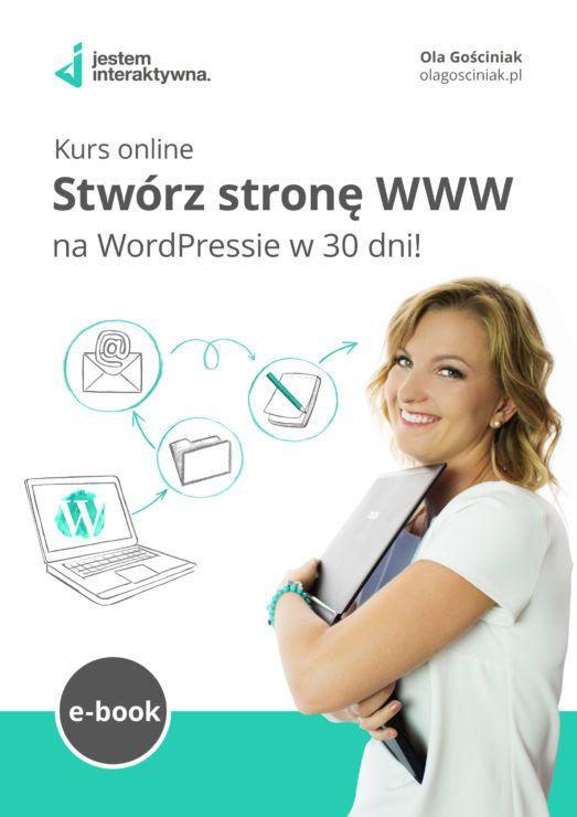 Przyjmij wyzwanie i stwórz własną stronę WWW z WordPressem w 30 dni! Przeznacz codziennie około 30–60 minut na pracę nad Twoją stroną internetową, a po 30 dniach odczujesz ogromną satysfakcję z dobrze wykonanej pracy. Przedstawię Ci w tym e-booku 30 lekcji, po jednej na każdy dzień.    #wordpress #kursonline #ebook #wiedza #biznesonline #www #kobiecybiznes