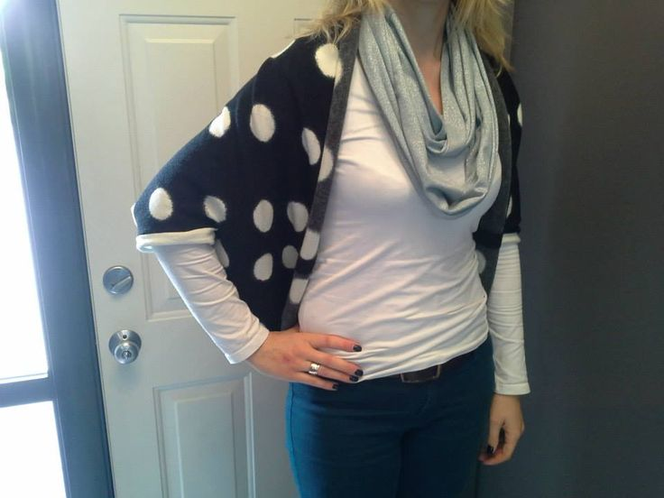 Millie Blue Polka Dot cape $60 sold out