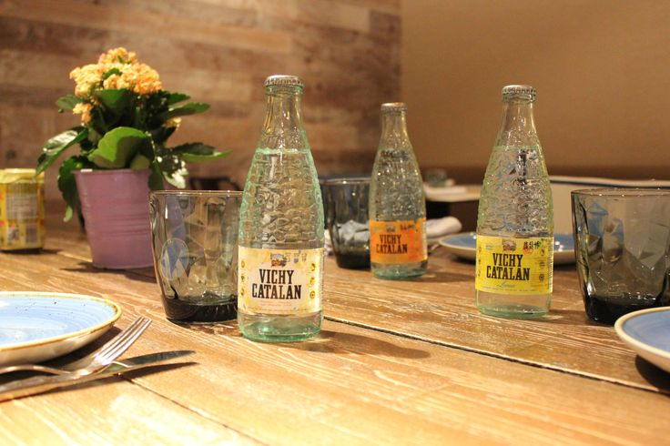 Trío de ases: Vichy Catalan sabores, con 0% azúcares añadidos.