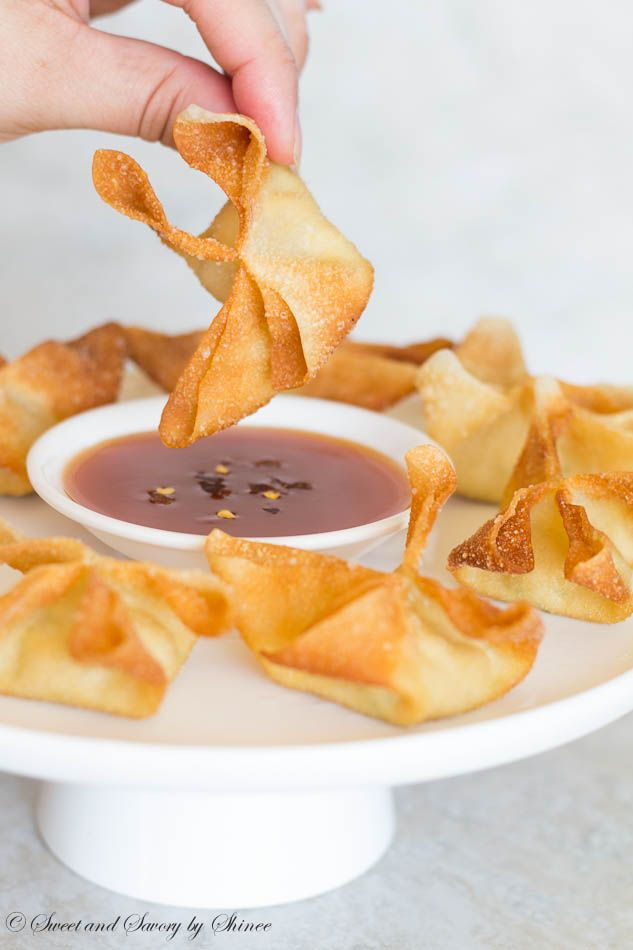 Crispy, crunchy jalapeño cream cheese wontons dipped in sweet and sour sauce are out-of-this-world delicious!