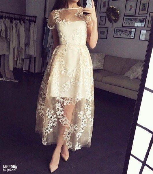 Кружевное платье самара