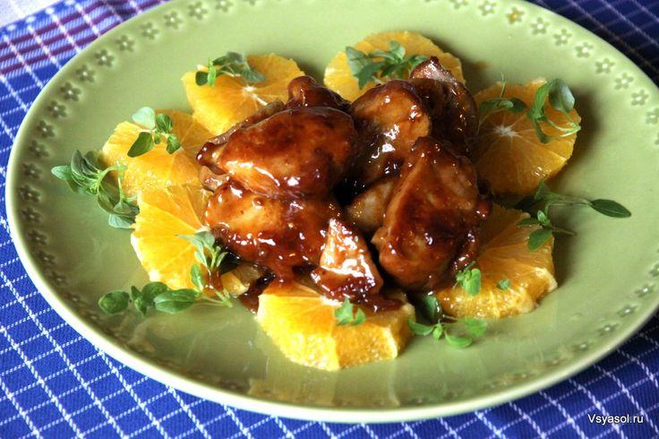 Свинина, глазированная в мисо, с апельсинами – Вся Соль - кулинарный блог Ольги Баклановой