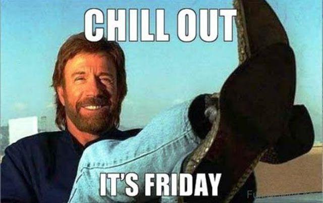 Life With Sarah F Friday Meme Chuck Norris Texas Girl Loving Texas