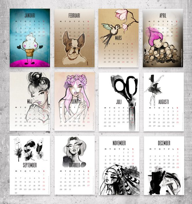 Calendar Diy Printable : Best diy calendar images on pinterest free