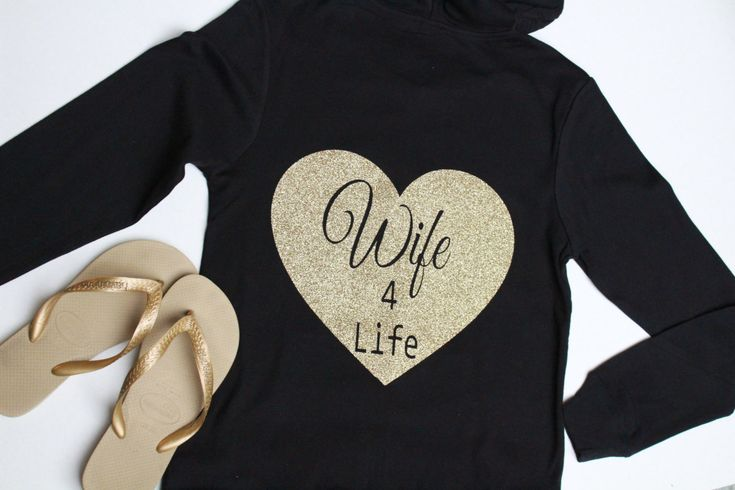 Wife for Life Bride Hoodie, Bride, Wifey Hoodie, Bride Jacket, Bachlorette Party, Brides Entourage, Wedding Party Hoodies, Bride sweatshirt, by ArenLace on Etsy