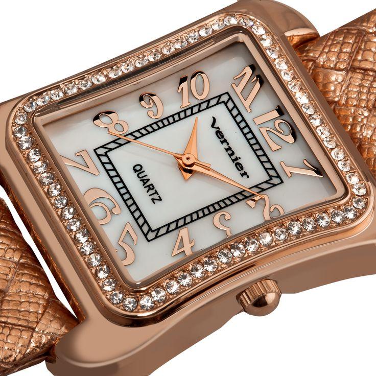Fashion Glitz Polyurethane Quartz Watch $24.99 Amazon $75+ Value