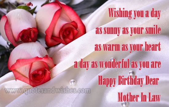 Image result for birthday message for mother in law