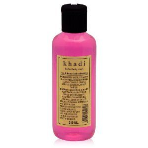 KHADI - Rose & Honey Herbal Body Wash - 210ml by KHADI. $7.95. with a humble whisper of rose fragrance.; Honey acts as a natural ingredient in softening your skin. Leaving your body clean and fresh.; Relax your body and indulge your senses, with soap free rose and honey herbal body wash.; This body wash will leave your skin cleansed, refreshed and soft,. Relax your body and indulge your senses, with soap free rose and honey herbal body wash.  This body wash will leave...