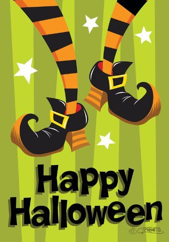 this toland home garden witch feet double sided garden flag is a high quality halloween