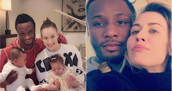 Mikel Obi's Russian wife, Olga reveals how they met & started dating