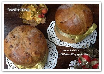 KRISTA MOCAF KITCHEN: Panettone, Italian Christmas Bread - Not Gluten Fr...