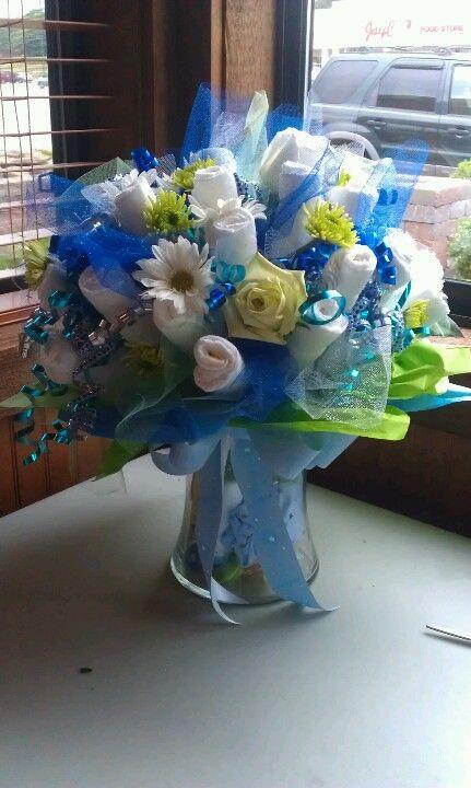 Best diaper bouquet ideas on pinterest